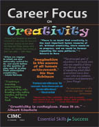 image of career focus on creativity cover